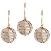 Corrugated Ball Ornaments - Small