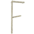 Cornstalk Wrapped Letter Wall Decor - F