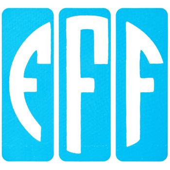 Circular Monogram Screen Stencils - F