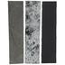 Black, Silver & Cobra Leather Inlays