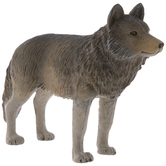 Standing Timber Wolf