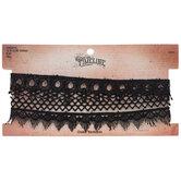 Black Lace Choker Necklaces