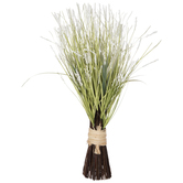 Green & White Berry Grass Bundle