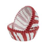 Candy Cane Swirl Mini Baking Cups