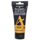 Yellow Ochre Grumbacher Academy Acrylic Paint - 2.5 Ounce