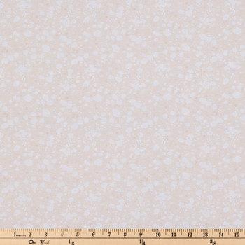 Beige Prairie Cotton Calico Fabric