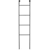 Black Ladder Metal Wall Decor
