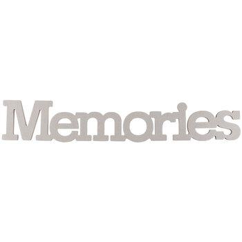 Memories Chipboard Shape
