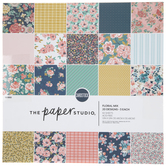 "Floral Mix Paper Pack - 12"" x 12"""