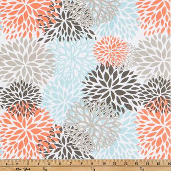 Byram Blooms Duck Cloth Fabric