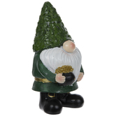Green Gnome With Pot Of Gold