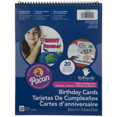 Color & Decorate Birthday Cards