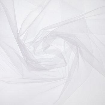 White Nylon Tulle Fabric