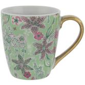 Giraffe & Flowers Mug