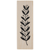 Berry Branch Rubber Stamp