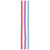 Pink, Blue & Purple Clay Disc Bead Strands