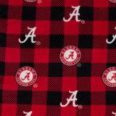 Alabama Allover Collegiate Fleece Fabric