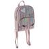 Unicorn Striped Glitter Mini Backpack