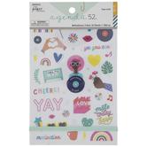 Rainbow Motivational Holographic Foil Stickers