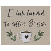 Coffee & You Wood Wall Decor