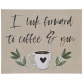 Coffee & You Wood Decor