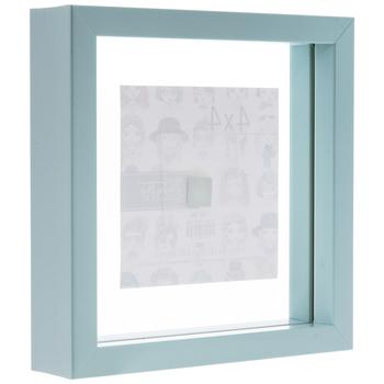 """Light Blue Float Frame - 4"""" x 4"""""""
