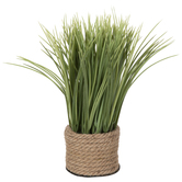 Grass In Rope Container