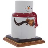 S'mores Snowman Cookie Jar