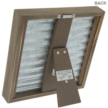 "Galvanized Metal Clip Frame - 4"" x 4"""