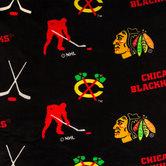 NHL Chicago Blackhawks Fleece Fabric
