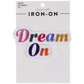 Dream On Iron-On Applique