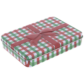 Red & Green Plaid Gift Card Holder