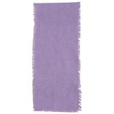 Stonewash Purple Fringe Table Runner