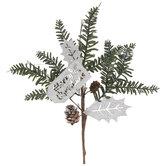 Merry Christmas Pine Pick