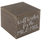 Well Wishes Wood Box