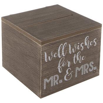 Well Wishes Wood Box