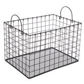 Black Metal Basket