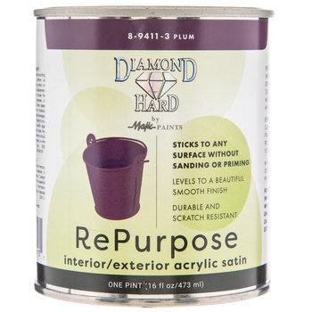 Plum Repurpose Acrylic Satin Paint