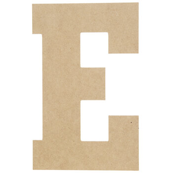 "Wood Letter E - 13"""