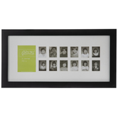 School Years Collage Wall Frame