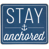 Stay Anchored Wood Wall Decor