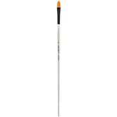 Premium Gold Taklon Filbert Paint Brush