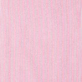 Red & White Seersucker Striped Fabric