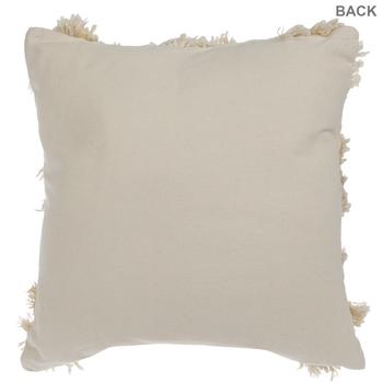 Diamond Fringe Pillow