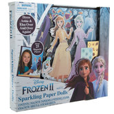 Frozen 2 Sparkling Paper Dolls Kit