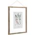 Floral Print Framed Wall Decor