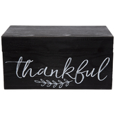 Thankful Wood Box