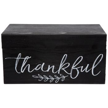 Thankful Wood Box
