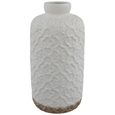 Cream Moorish Pattern Vase