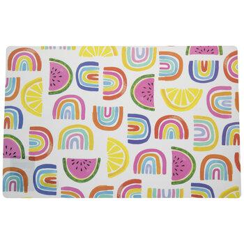 Fruit & Rainbows Placemat